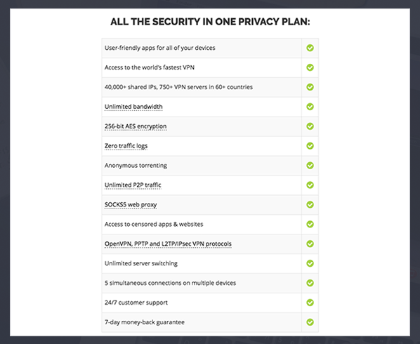 IPVanish offers a variety of unique features for extra security